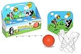 Der Kleine Maulwurf Basketballkorb mit kleinem, weichem Basketball für Kleinkinder ab 3 Jahren
