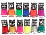 #6: Makeup Mania Exclusive Nail Polish Set of 12 Pcs (Multicolor Set # 74)