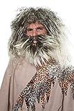 Wilbers Herren Perücke Steinzeit Neandertaler zum Kostüm Karneval Fasching