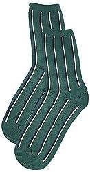 69th Avenue Mens Cotton Socks (Green)