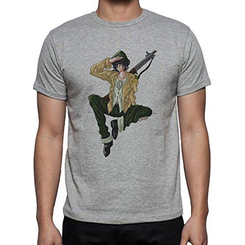 Army Guy Art Project Herren T-Shirt Grau