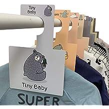 Separadores para armario de Bebé Belo + Me | Osos del Bosque | Paquete de 16