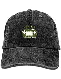 Wfispiy Jeep Logo Unisex Baseball Cap Trucker Hat Adult Cowboy Hat Hip Hop Snapback ABCDE13640