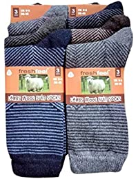 Gents Fresh Feel Lambs Wool Mix Suit Socks with Reinforced Heel & Toe