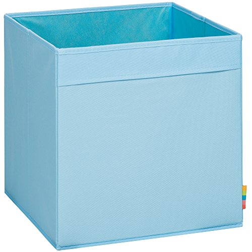 Storanda) Aufbewahrungsbox MIO - Extra Stabile MDF Ausführung - Faltbox - Korb - 33x33x33 cm - (Hellblau)