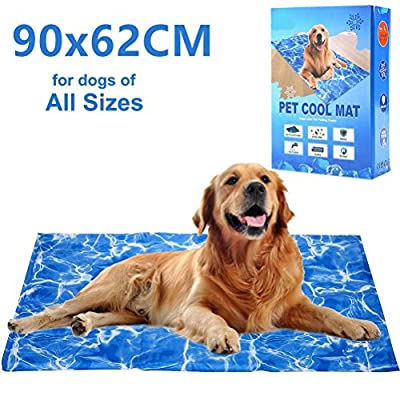 Dog Cooling Mat Pet Gel Self-Cooling Pad for Summer Sleeping