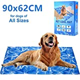 Best Cooling Pad For Dogs - Dog Cooling Mat 90 x62cm, Pet Gel Self-Cooling Review