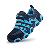 SITAILE Zapatillas Deportivas para Niños Antideslizante Calzado de Running Correr para Exterior Interior, Azul, EU37