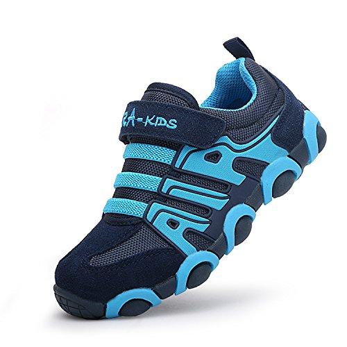 Sitaile scarpe per bambini scarpe da corsa scarpe sportive estive ragazzi sneakers da ragazza,blu,eu 29