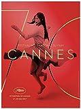 FESTIVAL DE CANNES 2017 Affiche Originale Grand Format (160x120 cm pliée)