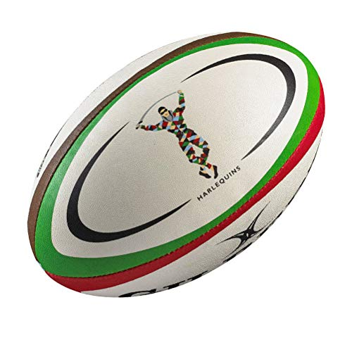 GILBERT Harlequins Réplica Mini Balón de Rugby
