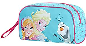 Disney New Wonder Trousse de Toilette, 23 cm, Frozen Magic Bleu