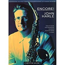 Encore! John Harle. Partituras para Saxofón, Acompañamiento de Piano