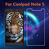 Cassiey Coolpad Note 5 Will Fit Only Center Of Screen Amazing Pro+ 0.3 Mm 2.5D 9H Hardness Anti-Explosion Tempered Glass Phone Screen Protector For Coolpad Note 5