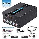EASYCEL HDMI zu Component (YPbPr/RGB / 5RCA) Scaler Konverter (mit Scaler-Funktion, Aluminium), HDMI-Eingang zu Component (YPbPr/RGB / 5RCA) Ausgang (mit HDMI- und Component-Kabel)