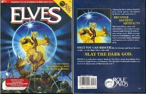 Elves (Role Aids / Advanced Dungeons & Dragons) Revised edition by Glaberson, Cory (editor) (1983) Paperback