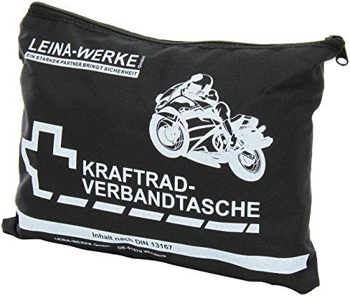 Leina-Werke 17003 Kraftrad-Verbandtasche Typ I ohne Klett, 1-Farbig Sortiert
