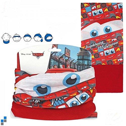 Kinder Schal Fleece Bandana Stirnband Halstuch Multifunktionstuch Schlauchschal Cars