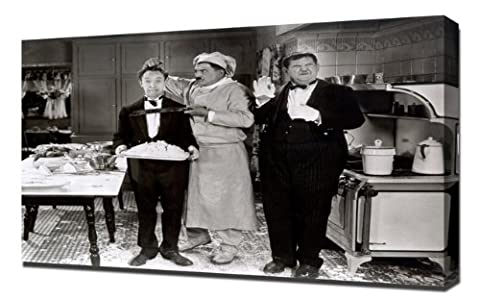 Laurel & Hardy (From Soup to Nuts)_01 - Impression Sur Toile