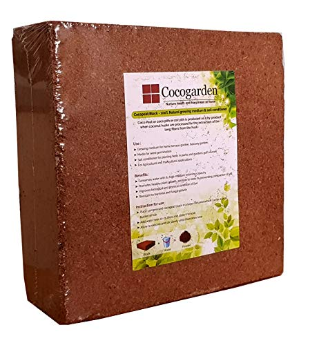 Cocopeat Block 4 Qty Expands To 100 Kg Coco Peat Powder