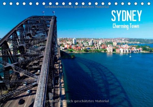 Sydney - Charming Town (FL - Version) (Tischkalender 2014 DIN A5 quer): Die bezaubernde australische Küstenstadt (Tischkalender, 14 Seiten)