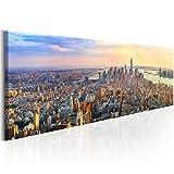 murando - Acrylglasbild New York 120x40 cm - 1 Teile - Bilder Wandbild - modern - Decoration City - d-B-0086-k-b