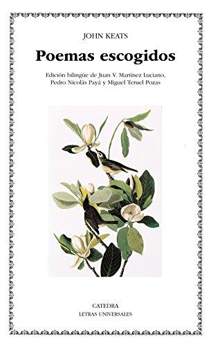 Poemas escogidos (Letras Universales) por John Keats