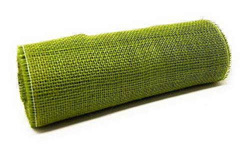 Juteband in Verschiedenen Farben Breite 30 cm Länge 10 Meter Olivgrün