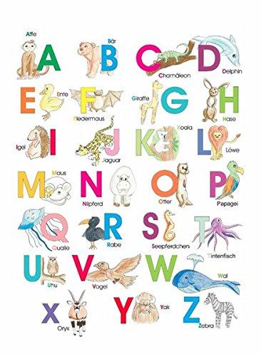 Preisvergleich Produktbild Das ABC der Tiere: 10 Postkarten im Pack + 1 Karte gratis