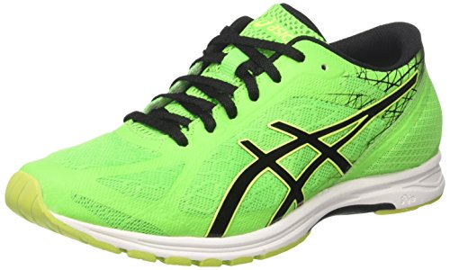ds racer ASICS Herren Gel-ds Racer 11 Gymnastikschuhe, Grün (Green Gecko/Black/Safety Yellow), 42 EU