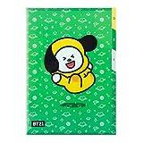 2019New BT21direction 3-pocket PP cartella + Idolpark Gift Chimmy