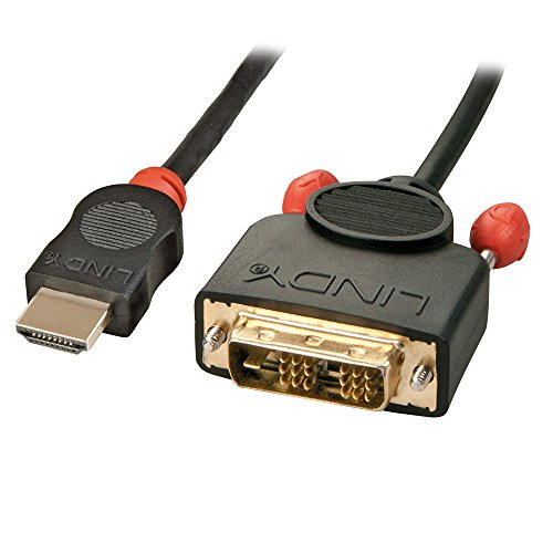 LINDY HDMI/DVI-D Kabel 5m M/M, HDTV und HDCP kompatibel Dvi Hdcp Hdtv