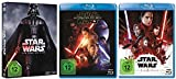 Star Wars Teil 1-8 (Teil 1+2+3+4+5+6+7+8) [Blu-ray Set]