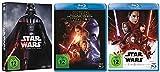 Star Wars Teil 1-8 (Teil 1+2+3+4+5+6+7+8) [Blu-ray Set]