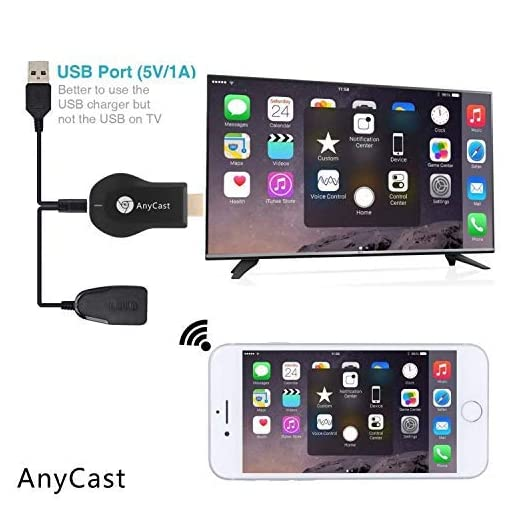 Anycast Wireless WiFi 1080P HDMI Display TV Dongle Receiver Supports