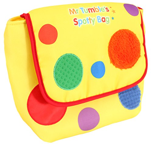 Image of Something Special Mr Tumble Textured Spotty Bag