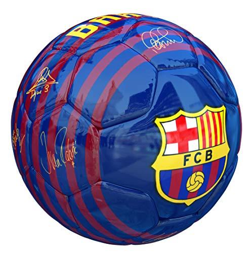 ce80cb35dd FCB Balon FC Barcelona Primera Equipacion 18 19 Azul Brillo