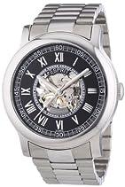 Esprit Collection Herren-Armbanduhr Xl Agenor Black Analog Handaufzug Edelstahl
