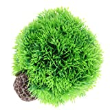 non-brand Sharplace Piante Acquatiche Acquatico Decorazione Plastica Vegetali Forniture PET Complimenti Ornamento Auario Elegante - Verde, Grande