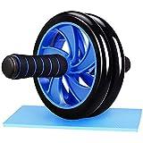 Blue Abs Roller Workout Apparatuur voor Core Workout - Ab Oefenapparatuur als buikspier 6pac Abs Borst Core Conditioning Toner - Home Workout Apparatuur voor zowel mannen als vrouwen