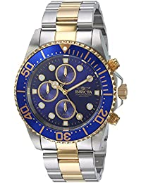 Invicta Pro Diver Men's Chronograph Quartz Watch with Stainless Steel Bracelet – 1773