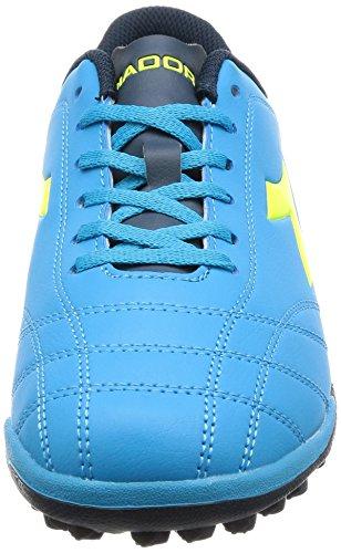 Diadora 6play TF, Scarpe da Calcio Uomo Blu (Blu Fluo/Giallo Fluo)