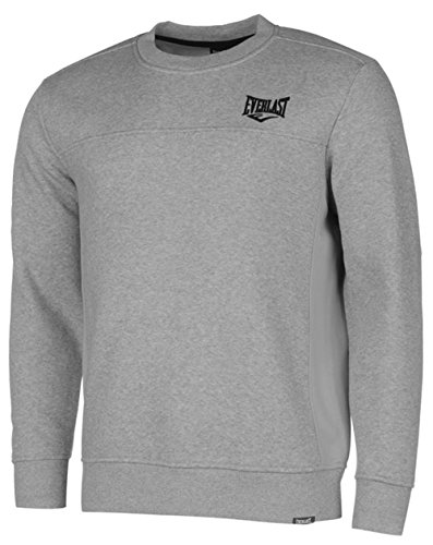 Everlast -  Felpa  - Uomo Grey Marl XX-Large