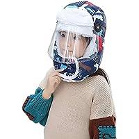 xianjun Sombrero de protección para los oídos de los niños de Invierno Ciclismo al Aire Libre Sombreros a Prueba de Viento Protección de oídos para el oído Sombrero Caliente Engrosado con máscara