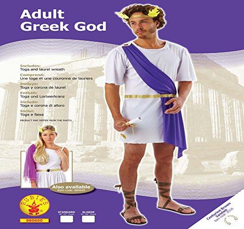 Rubie' s Costume Dio greco, adulto ufficiale uomo–X-Large