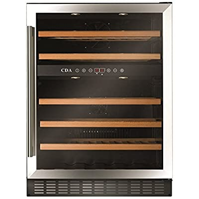 CDA FWC603 Wine Cooler Freestanding Under Counter