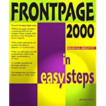Frontpage 2000 In Easy Steps (In Easy Steps Series) by Michael Price (1999-09-16)