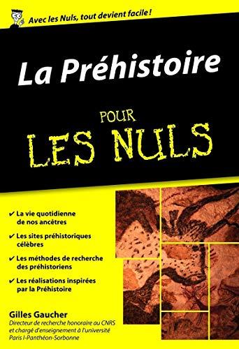 La Préhistoire pour les Nuls poche par Gilles GAUCHER