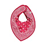 Pippi Baby Mädchen Jungen (0-24 Monate) Schal , Paisley Muster (Paisley rot)