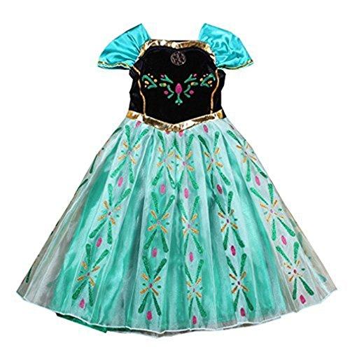 Ninimour Buena Venta Vestido para Niñas Fiesta Dulce de Princesa Ana